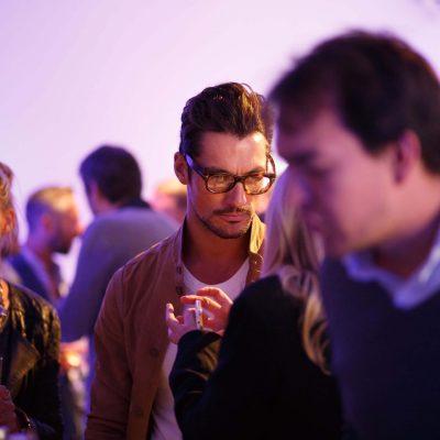 David Gandy at Telegraph Men Launch
