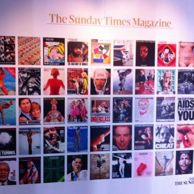 Sunday Times Magazine 50th Anniversary Exhibition